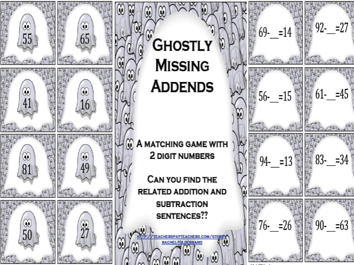 Ghostly Missing Addends