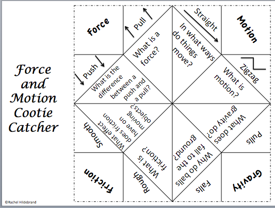 2ndGradeRockStars – Forces and Motion Worksheet
