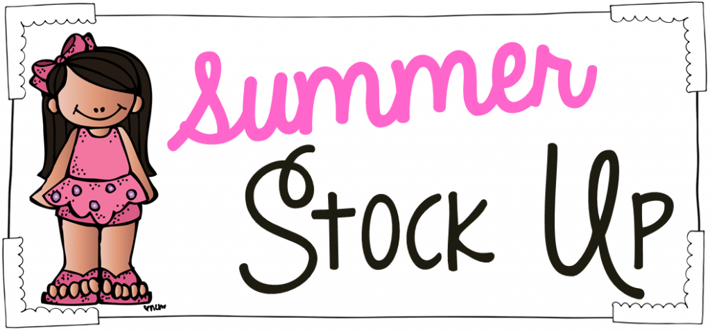 Summer Stock Up Blog Logo
